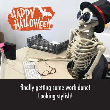 Halloween at Caxton - Steve